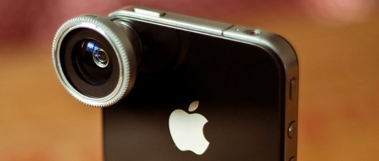 Fisheye 180° pour Iphone et smartphone